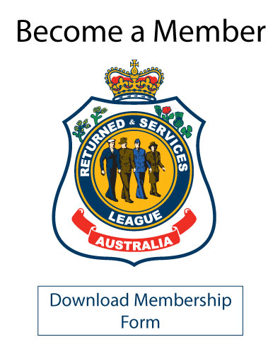 Become a Member of the Deception Bay RSL Sub Branch